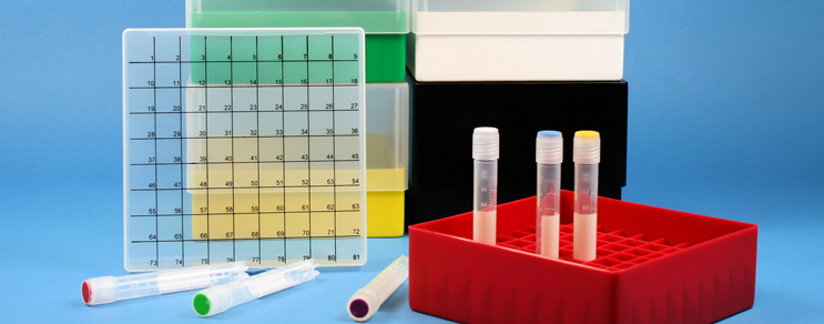 EPPI® PP Kryoboxen numerisch codiert 123...