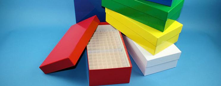 Alpha Kryo Pappe Boxen 136x268x75 mm hoch +Raster