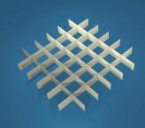 MIKE Rastereinsatz / 6x6 Fächer / Höhe 15 mm für Kryoboxen, Karton