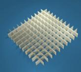 MIKE Rastereinsatz / 11x11 Fächer / Höhe 15 mm für Kryoboxen, Karton