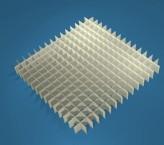 MIKE Rastereinsatz / 15x15 Fächer / Höhe 15 mm für Kryoboxen, Karton