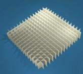 MIKE Rastereinsatz / 15x15 Fächer / Höhe 25 mm für Kryoboxen, Karton