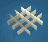 MIKE Rastereinsatz / 4x4 Fächer / Höhe 30 mm für Kryoboxen, Karton