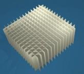 MIKE Rastereinsatz / 14x14 Fächer / Höhe 65 mm für Kryoboxen, Karton