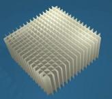 MIKE Rastereinsatz / 16x16 Fächer / Höhe 65 mm für Kryoboxen, Karton