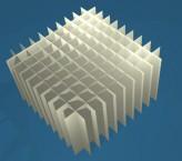 MIKE Rastereinsatz / 10x10 Fächer / Höhe 80 mm für Kryoboxen, Karton