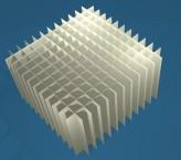 MIKE Rastereinsatz / 12x12 Fächer / Höhe 80 mm für Kryoboxen, Karton