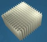 MIKE Rastereinsatz / 13x13 Fächer / Höhe 80 mm für Kryoboxen, Karton