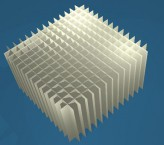 MIKE Rastereinsatz / 14x14 Fächer / Höhe 80 mm für Kryoboxen, Karton