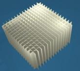 MIKE Rastereinsatz / 15x15 Fächer / Höhe 80 mm für Kryoboxen, Karton