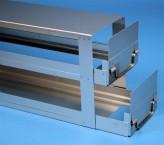 ALPHA Schrankeinschub 110, für 10 Kryoboxen bis 136x136x113 mm
